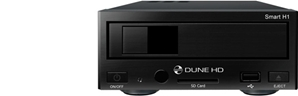 Lecteur Multimédia Haute Definition - Dune HD Smart H1
